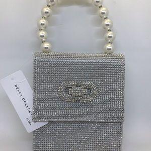 Bella Collection Bags - Rhinestone handbag, Bella collection